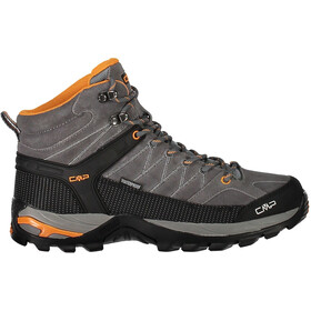 CMP Campagnolo Rigel Mid WP Trekking Shoes Men Grey-Aperol